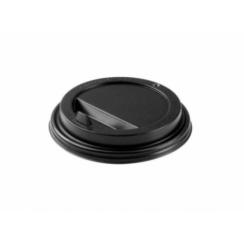 Крышка для горячих напитков 80 мм (черная/белая)